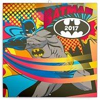 Kalendář poznámkový 2017 - Batman