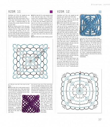 Náhled Háčkované motivy - Techniky háčkování, 10 projektů, 110 vzorů