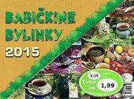 Babičkine bylinky 2015 - Stolový kalendár