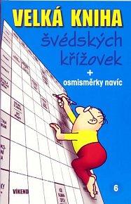 Velká kniha švédských křížovek 6. + osmisměrky navíc