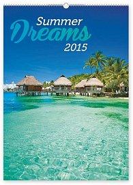 Kalendář 2015 - Summer Dreams - nástěnný