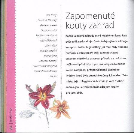 Náhled Notes Květinové kuchařky