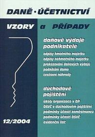 Daně, účetnictví 12/2004