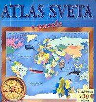 Atlas sveta s puzzle