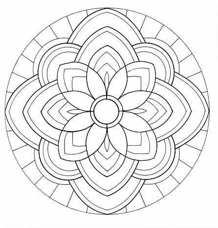 Náhled Posvátné mandaly pro harmonii, rovnováhu a duševní pohodu