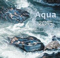 Kalendář nástěnný 2015 - Aqua