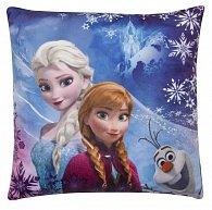 Polštářek Ledové království Anna, Elsa a Olaf