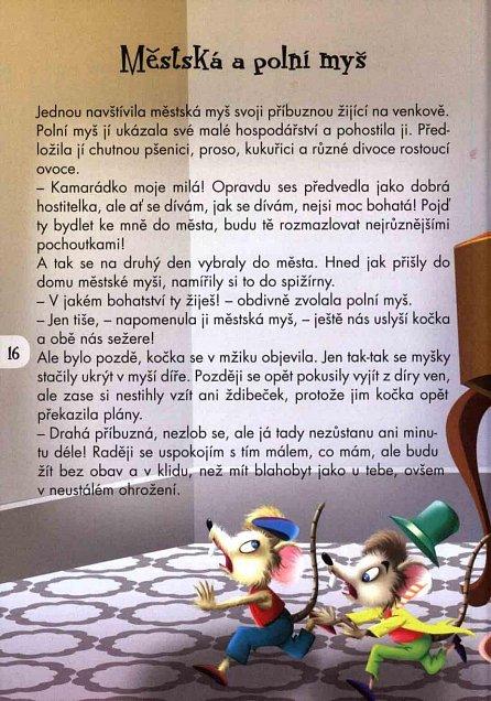 Náhled Pětiminutové příběhy 1. - Obelstěné kočky a další bajky