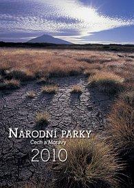 Národní parky Čech a Moravy 2010 - nástěnný kalendář