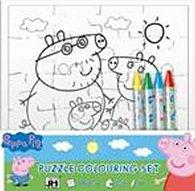 Peppa Pig - Omalovánky puzzle