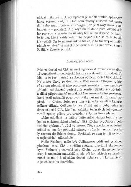 Náhled Český krtek v CIA