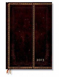 Kniha hostů - Black Moroccan Wrap, Guest 180x230