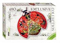 Puzzle 690Sluníčko sedmitečné (obrysové puzzle)