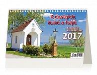 Kalendář stolní 2017 - Z českých luhů a hájů