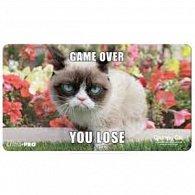 UP Art: Grumpy Cat Flowers - hrací podložka