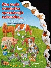 Ako malé šteniatka spoznávajú zvieratká