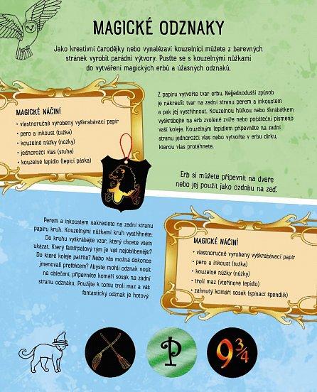 Náhled Vyškrabávací obrázky pro děti: Harry Potter