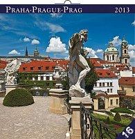 Kalendář 2013 poznámkový - Praha, 30 x 60 cm