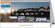 Svět 1435 mm 2010 - stolní kalendář