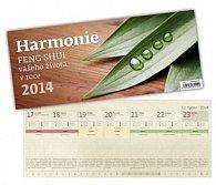 Kalendář 2014 - Harmonie - stolní