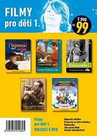 Filmy pro děti 1. - 5 DVD pošetka