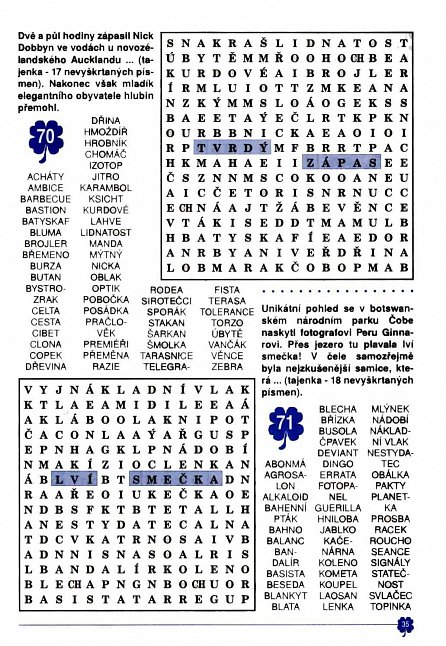 Náhled Osmisměrky z Telpresu luští celá rodina 2/2016 - 250 osmisměrek