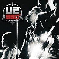 U2 2011 - nástěnný kalendář