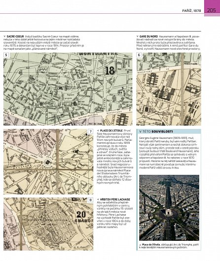 Náhled Mapy měst  -  Historická výprava za mapami, plány a obrazy měst