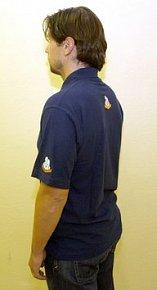 RK tričko modré pánské XL