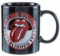 Hrnek keramický - Rolling Stones/Established 1962