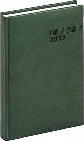 Diář 2013 - Tucson-Vivella - Denní A5, tmavě zelená, 15 x 21 cm