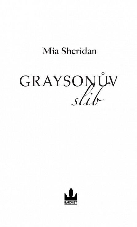 Náhled Graysonův slib