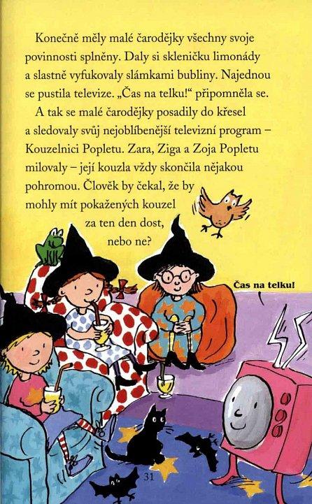 Náhled Tři malé čarodějky