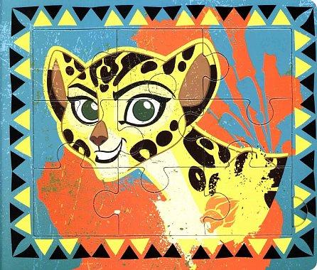 Náhled Lví hlídka (kniha s puzzle)