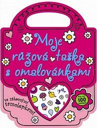 Moje růžová taška s omalovánkami