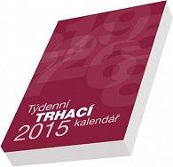 Kalendář 2015 - Kalendář blok A5 - týdenní