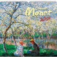 Kalendář nástěnný 2018 - Claude Monet