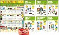 6 prac.sešitů pro předškoláky + kalendář