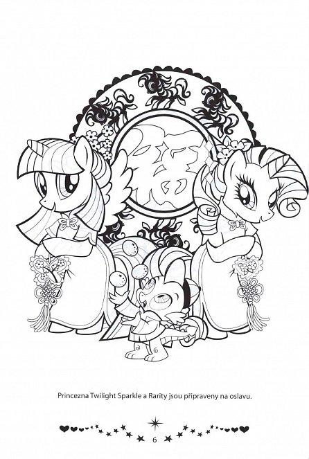 Náhled My Little Pony - Duhové omalovánky
