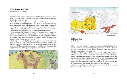 Náhled Mlsná štika a jiné příběhy - Bajky podle Ezopa, La Fontaina a Krylova