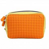 Pixelová Příruční Taška Žlutá/Oranžová