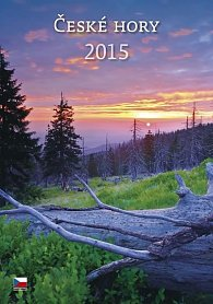 Kalendář nástěnný 2015 - České hory