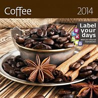 Kalendář 2014 - Coffee - nástěnný