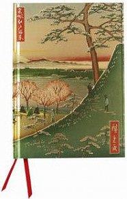 Zápisník Flame Tree Hiroshige Fuji