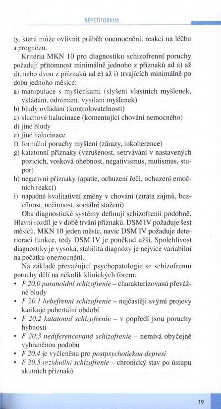Náhled Schizofrenie a její léčba