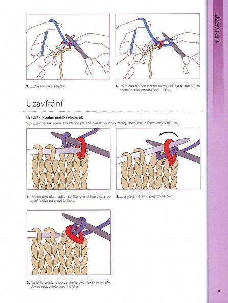 Náhled Praktická kniha - Pletení - Techniky, vzory, projekty