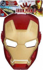 Ironman maska svítící  ve tmě