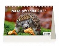 Kalendář stolní 2017 - Naše příroda