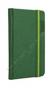 Diář 2015 - Janus zelený kapesní