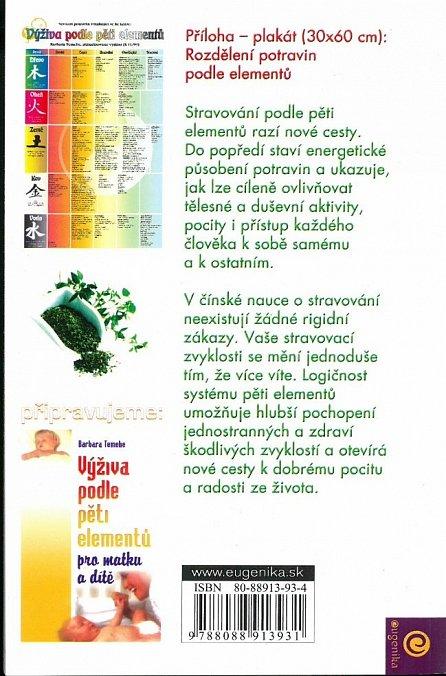 Náhled Výživa podle pěti elementů